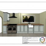 Kitchen 3D visual