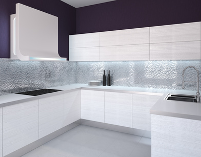 Splashbacks the new star of the show in kitchen design aspire - Splashback alternatives ...